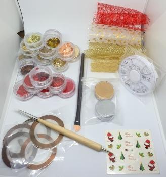 New Nail Art Weihnachts Deko Set