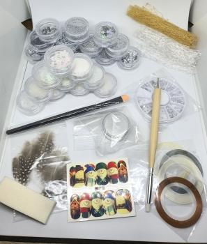 New Nail Art Winter Deko Set