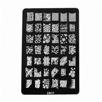 XL Stamping Schablone CK17