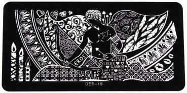 XL Stamping Schablone DER-19