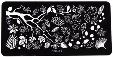 XL Stamping Schablone DER-29