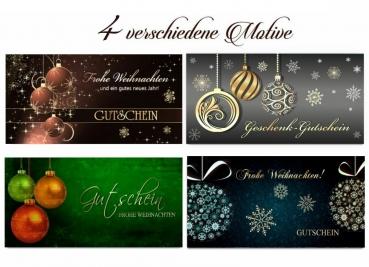 Weihnachten Geschenkgutschein 50 Euro